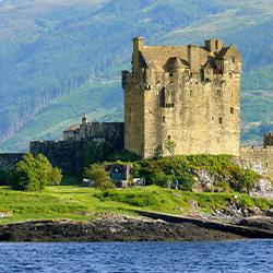 Celtic castle island