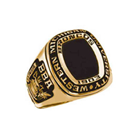 WMU class ring sample